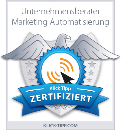 Certified Consultant für Marketing Automatisierung